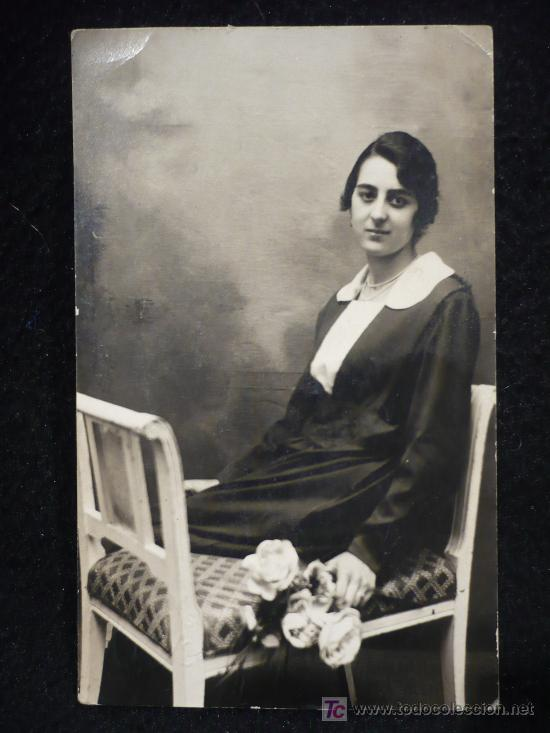 MUJER. POST CARD. 1921. CIRCULADA. CALIGRAFIA ANTIGUA. (Postales - Postales Temáticas - Galantes y Mujeres)