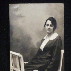 Postales: MUJER. POST CARD. 1921. CIRCULADA. CALIGRAFIA ANTIGUA.. Lote 12638958