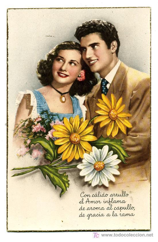 POSTAL ESCRITA POR DETRAS 1952 (Postales - Postales Temáticas - Galantes y Mujeres)