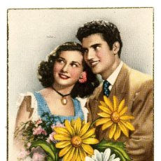 Postales: POSTAL ESCRITA POR DETRAS 1952. Lote 26537733