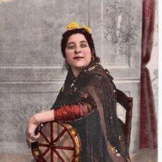 Postales: TIPOS ANDALUCES. VAYA RUMBO! PURGER & CO. FRANQUEADA Y FECHADA: 7 ENE. 1904. Lote 14651527