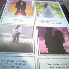 Postales: LOTE DE 4 POSTALES CON BELLAS FRASES DE AMOR MAS ARTICULOS EN MI TIENDA VISITALA. Lote 26606537