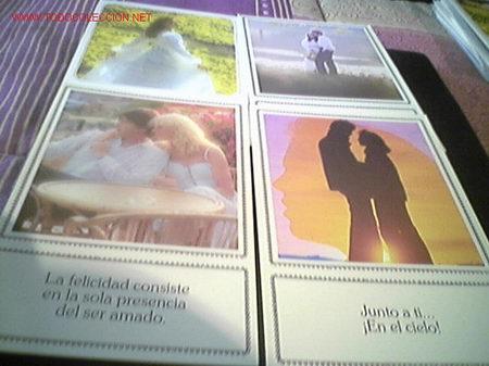 4 POSTALES DE AMOR (Postales - Postales Temáticas - Galantes y Mujeres)