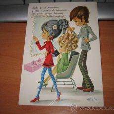 Postales: LISTA YA Y PRESUROSA Y OTRA A PUNTO DE TERMINAR.....ALAIN. Lote 9986158