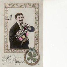 Postales: BONNE ANNEE-JK Nº 3014 POSTAL ROMANTICA.. Lote 12365140