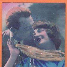 Postales: TARJETA POSTAL - LAS MIRADAS (1927). Lote 13377492