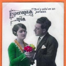Postales: TARJETA POSTAL - ESPERANZA MIA (1933). Lote 13377511