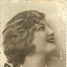 Postales: PS3344 POSTAL FOTOGRÁFICA DE JOVEN EN BLANCO Y NEGRO. CIRCULADA EN 1936. Lote 13635900