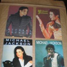 Postales: 4 POSTALES MICHAEL JACKSON. Lote 27842098