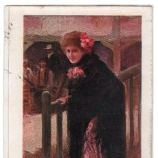 Postales: TARJETA POSTAL DE CREACIONES FEMENINAS. LA REVOLTOSA. BLANCO Y NEGRO. SERIE B Nº 7. Lote 15275210
