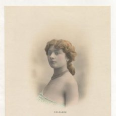 Postales: DELBARRE. (THOMAS MADRID, Nº 9. CLICHÉ WALERY, PARIS). REVERSO SIN DIVIDIR. . Lote 15427786