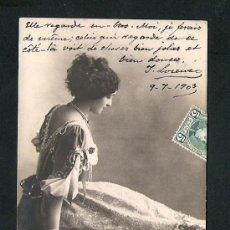 Postales: TARJETA POSTAL - ARTISTA - CAVALIERI - REUTLINGER. Lote 26445783