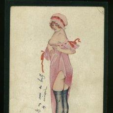 Postales: POSTAL ROMANTICA ANTIGUA AÑO 1900 - 1920 APROX.. Lote 20104982