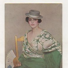 Postales: POSTAL ILUSTRADA POR RAMON CASAS. RAFAELA. (TRICROMIA 161, ED THOMAS). . Lote 17796816