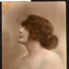 Postales: ANTIGUA POSTAL BONITA MUCHACHA - EAS 5691/4, ESCRITA EN 1920. Lote 18024092
