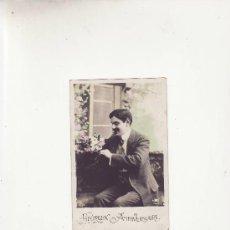 Postales: HEUREUX ANNIVERSAIRE.POSTAL ESCRITA EN 1916..MAS COLECCIONSIMO EN RASTRILLOPORTOBELLO. Lote 19261839