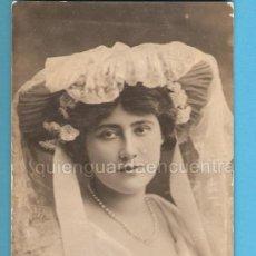 Postales: POSTAL GALANTE ROMÁNTICA ANTIGUA, COLECCIÓN ARTISTAS? MISS LILY HAMBURY.. Lote 27132428
