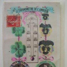 Postkarten - Antigua Postal : LE THERMOMÈTRE DE L'AMOUR. nº 5004 - 19944443