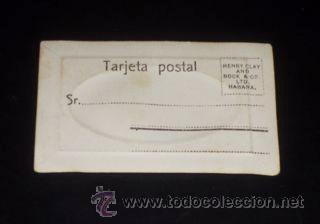 Postales: MINI POSTAL ANTIGUA - HENRY CLAY AND BOCK & CO. LTD. HABANA. - Foto 2 - 22196027