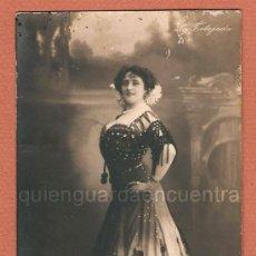 Postales: FOTO POSTAL DE LA ACTRIZ CONSUELO TAMAYO LA TORTAJALA GG Cº SERIE 280/4 FOTO GERLACH. Lote 27527894