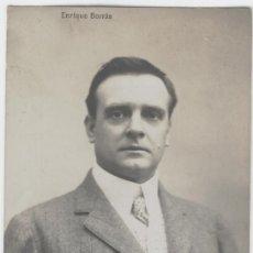 Postales: ENRIQUE BORRÁS ORIOL. ACTOR DRAMÁTICO. AÑOS 1920. Lote 26863398