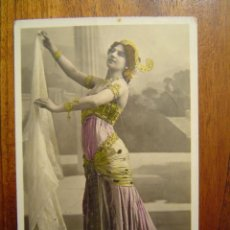 Postales: POSTAL DE MATA-HARI - ORIGINAL - COLOR - SERIE BELLY DANCE DE WALERY ( PARIS ). Lote 27461522