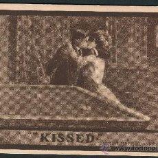 Postales: KISSED. BESOS Y BILLAR. Lote 26323772