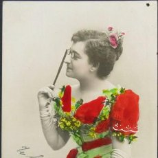Postales: POSTAL RETRATO ACTRIZ TEATRO MARIA GUERRERO . FOTO GARCIA CA AÑO 1910.. Lote 25316939