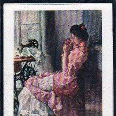 Postales: TARJETA POSTAL DE CREACIONES FEMENINAS - LA HIJASTRA DEL AMOR. Lote 26541632