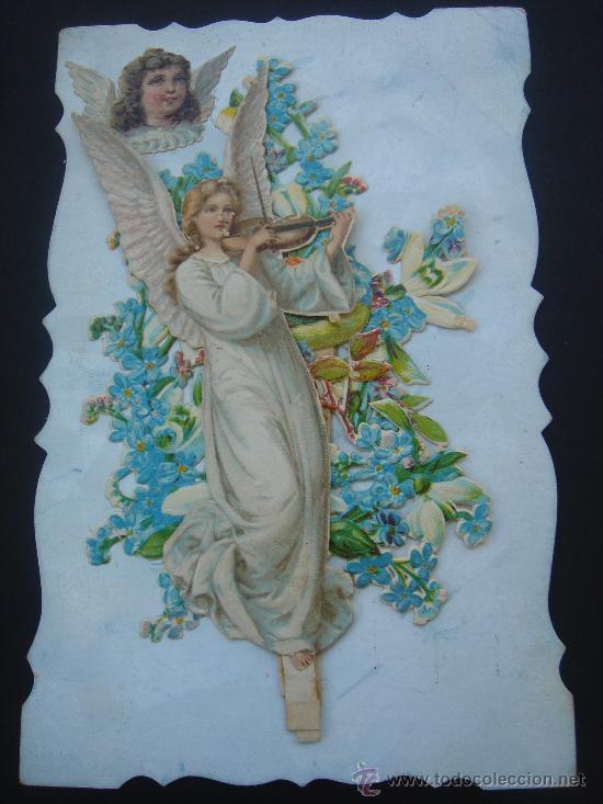 ANTIGÜA POSTAL CON MOTIVO EN RELIEVE. ESCRITA Y FECHADA EL 7-XII-1910. (Postales - Postales Temáticas - Galantes y Mujeres)