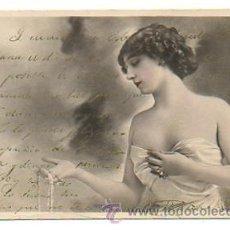 Postales: CUPLETISTA. ARTISTA. 'LA BELLA OTERO'. (REUTLINGER) CIRCULADA EN 1903. . Lote 29041786
