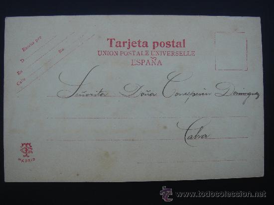 Postales: DORSO DE LA POSTAL - Foto 4 - 29067591