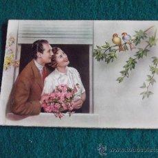 Postales: POSTAL-GALANTES Y MUJERES-ESCRITA 1956. Lote 29273864