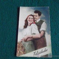 Postales: POSTAL-GALANTES Y MUJERES-ESCRITA 1956. Lote 29273868
