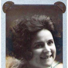 Postales: 1921.-AUTOGRAFO DE LA ACTRIZ CATALANA VISITACION LOPEZ, SOBRE SU FOTO EN FORMATO DE TARJETA POSTAL . Lote 30243779