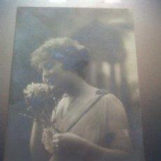 Postales: ANTIGUA POSTAL ROMANTICA IRISA ESCRITA CIEZA MURCIA 1918. Lote 30260113
