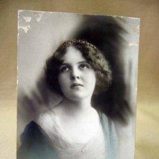 Postales: TARJETA POSTAL, FOTO POSTAL, MUJER, COLOREADA, 1911, P.R.A.. Lote 31957748