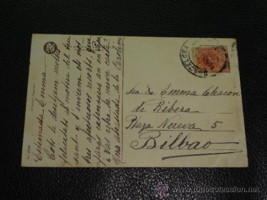 Postales: BONITA POSTAL MUJER CON SOMBRERO - MISS AMERICA - PHILIP BOILEAU, Nº 208 - Foto 2 - 32141990
