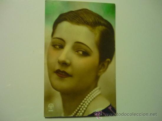 POSTAL ANTIGUA MUJER ESCRITA 1929 (Postales - Postales Temáticas - Galantes y Mujeres)