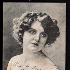 Postales: POSTAL OLIVE ELLIOTT. CIRCULADA EN 1906. Lote 33756096