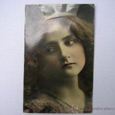 Postales: POSTAL ROMANTICA ,CIRCULADA,SELLO, AÑO 1909. Lote 34260615