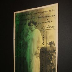 Postales: POSTAL ARTISTA LYANE DE VRIES 1902. Lote 34368935