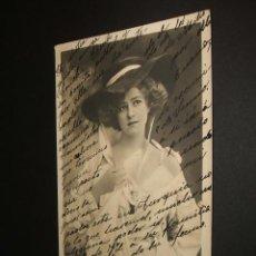Postales: POSTAL ARSTISTA GABRIELLE RAY 1905. Lote 34368977