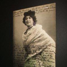 Postales: POSTAL CUPLETISTA THILDA 1906. Lote 34369098