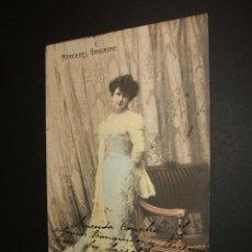 Postales: POSTAL ARTISTA MERCEDES BRIGNONE 1903. Lote 34369169