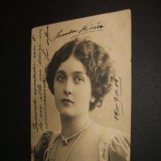 Postales: POSTAL ARTISTA LA CAVALIERI 1909. Lote 34369182