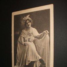 Postales: POSTAL ARTISTA MISS EDNA MAY 1902. Lote 34369188