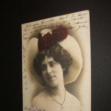 Postales: POSTAL ARTISTA NICOLETTA 1904. Lote 34369192