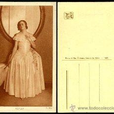 Postales: POSTAL – DAMA. Lote 34615110