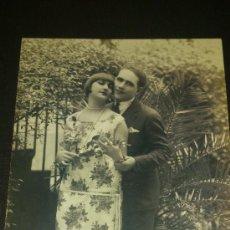 Postales: ANTIGUA POSTAL ROMANTICA PAREJA ENAMORADOS ESCRITA. Lote 34955733